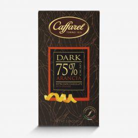 Dark: tavoletta extra-fondente 75% cacao e arancia