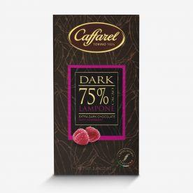 Dark: tavoletta extra-fondente 75% cacao e lampone
