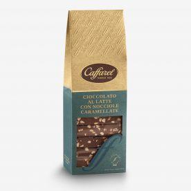 Le Creazioni: Latte con granella di nocciole caramellate