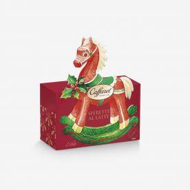 Buon Natale: Cavallino a dondolo Caffarel