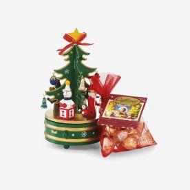 Buon Natale: Carillon in legno Caffarel