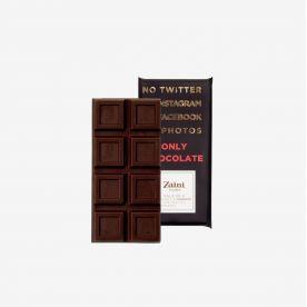 Tavoletta Cioccolato fondente e Sale Blu