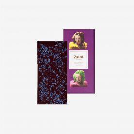 Tavoletta Cioccolato fondente e Fiori di Violetta
