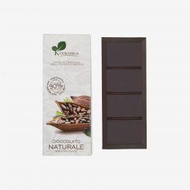 Cioccolato di Modica naturale al 90%